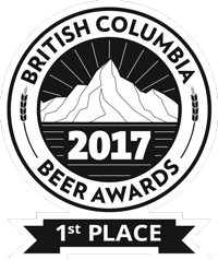 British Columbia Beer Awards 2017 - 1st Place