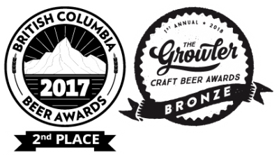 BCBA 2017 - 2nd Place & Growler Bronze