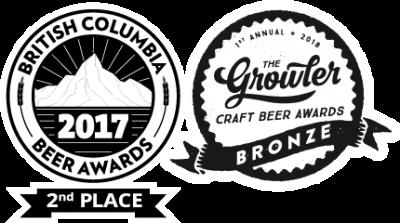 BCBA 2017 - 2nd Place & Growler Bronze