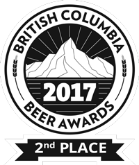 British Columbia Beer Awards 2017 - 2nd Place