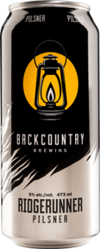 Backcountry Brewing | Ridgerunner Pilsner (Can)
