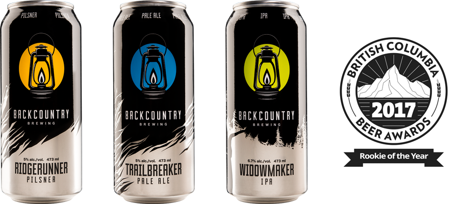 Three Cans | Ridgerunner, Trailbreaker, Widowmaker & Rookie Award