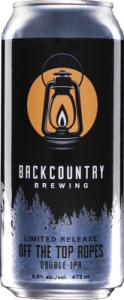 Backcountry Brewing | Off The Top Ropes Double IPA | Can