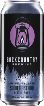 Backcountry Brewing | Sour Bastard Kettle Sour | Can
