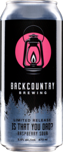 Backcountry Brewing | Is That You Dad? Raspberry Sour | Front of can