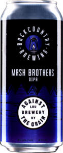 Backcountry Brewing | Mash Brothers DIPA (Double IPA) | Front of can