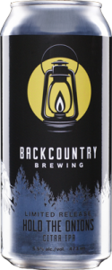 Backcountry Brewing | Hold The Onions | Front of can