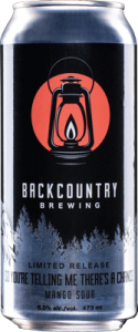 Backcountry Brewing | So You're Telling Me There's a Chance - Mango Sour Ale - Can