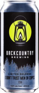 Backcountry Brewing | I Don't Trust Men In Capes ISA - Can