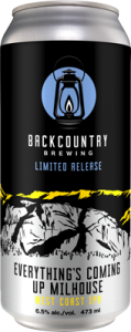 Backcountry Brewing | Everything's Coming Up Milhouse West Coast IPA - Can
