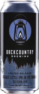 Backcountry Brewing | Biggest Little IPA in the World - Can