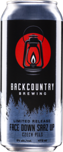 Backcountry Brewing | Face Down Saaz Up - Czech Pils - Can