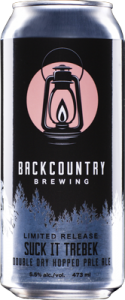 Backcountry Brewing | Suck It Trebek DDH Pale Ale - Can