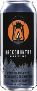 Backcountry Brewing | 36 Chambers of Tangerine | Tangerine Sour - Can