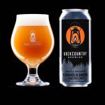 Backcountry Brewing | 36 Chambers of Tangerine | Tangerine Sour - Beer in glass and can together