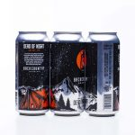 Backcountry Brewing | Dead Of Night | Galaxy IPA - Three cans on a white background