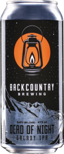 Backcountry Brewing | Dead Of Night | Galaxy IPA - Can