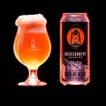 Backcountry Brewing | Dead Of Night | Galaxy IPA - Beer in glass and can with red lighting