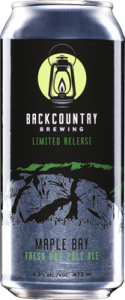 Backcountry Brewing | Maple Bay Fresh Pale Ale - Can