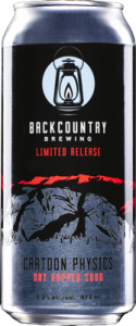 Backcountry Brewing | Cartoon Physics Dry Hopped Sour - Can
