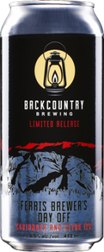 Backcountry Brewing | Ferris Brewer's Day Off - Coriander & Citra IPA - Can