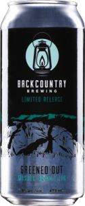 Backcountry Brewing | Greened Out Mosaic Double IPA - Can