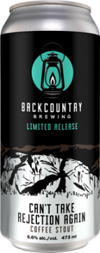Backcountry Brewing | Can't Take Rejection Again Coffee Stout - Can