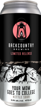 Backcountry Brewing | Mom Goes To College Kettle Sour - Can