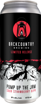 througBackcountry Brewing | Pump Up The Jam Sour Strawberry DIPA - Can