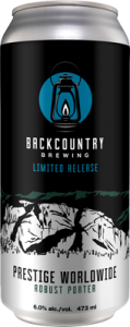 Backcountry Brewing | Prestige Worldwide Robust Porter - Can