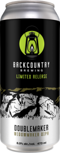 Backcountry Brewing | Doublemaker Double IPA - Can