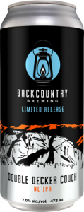 Backcountry Brewing | Double Decker Couch | NE IPA - Can