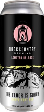 Backcountry Brewing | The Floor Is Guava | Tart Guava Ale - Can
