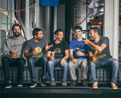Backcountry Brewing | Team Shot for WestJet Magazine