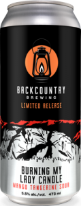 Backcountry Brewing | Burning My Lady Candle - Mango Tangerine Sour | Can