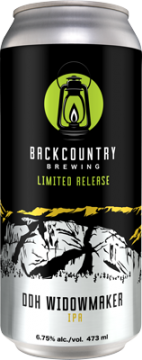 Backcountry - DDH Widowmaker | IPA - Can