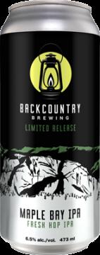 Backcountry - Maple Bay IPA | Fresh Hop IPA - Can