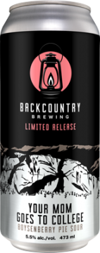 Backcountry - Your Mom Goes To College | Boysenberry Pie Sour - Can