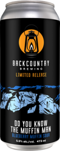 Backcountry - Do You Know The Muffin Man | Blueberry Muffin Sour - Can