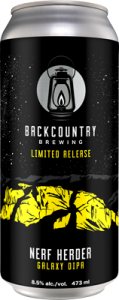 Backcountry - Nerf Herder | Galaxy Double IPA - Can