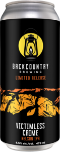Backcountry - Victimless Crime | Nelson IPA - Can