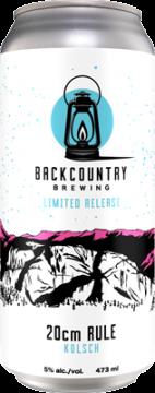 Backcountry - 20cm Rule | Kolsch - Can