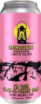 Backcountry - I'm Your Ch-Ch-Ch-Cherry Bomb | Cherry Bakewell Sour - Can