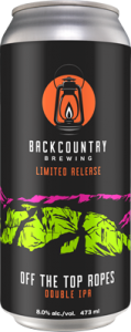 Backcountry - Off The Top Ropes | Double IPA - Can