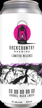 Backcountry - Do Do Do Do Do | Barrel Aged Lager - Can