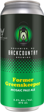 Backcountry - Former Greenskeeper | Mosaic Pale Ale - Can