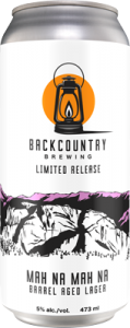 Backcountry - mah Na Mah Na | Barrel Aged Lager - Can