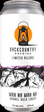 Backcountry - mah Na Mah Na | Barrel Aged Lager - Can