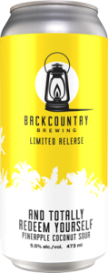 Backcountry - And Totally Redeem Yourself | Sour - Can
