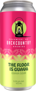 Backcountry - The Floor Is Guava | Guava Sour - Can Front